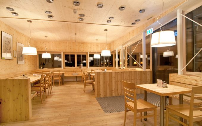 Gipfelhaus Dobratsch Speisesaal