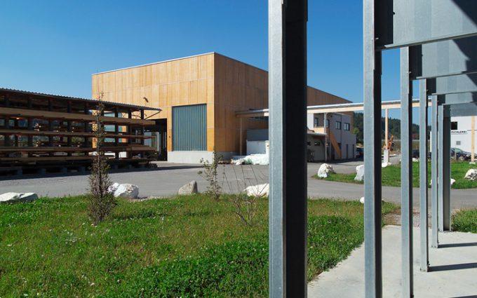 Alles unter einem Dach - von der Planung bis zur Umsetzung - Das Firmengelände von Willroider