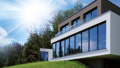 Das moderne Meisterhaus im kubistischen Baustil von Willroider