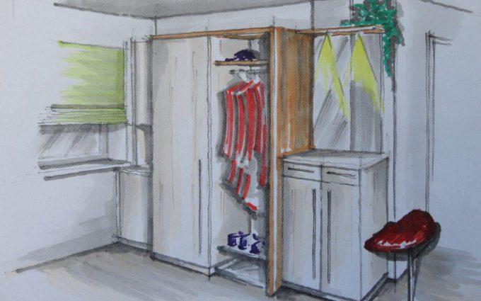 Planung von Garderoben