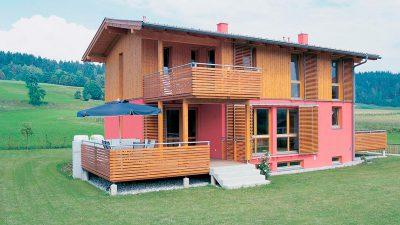 Willroider Holzmeisterhaus Aussen