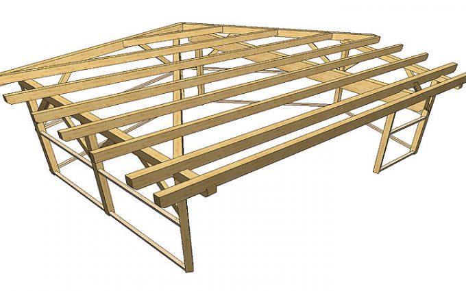 Holzbau Carport von Willroider