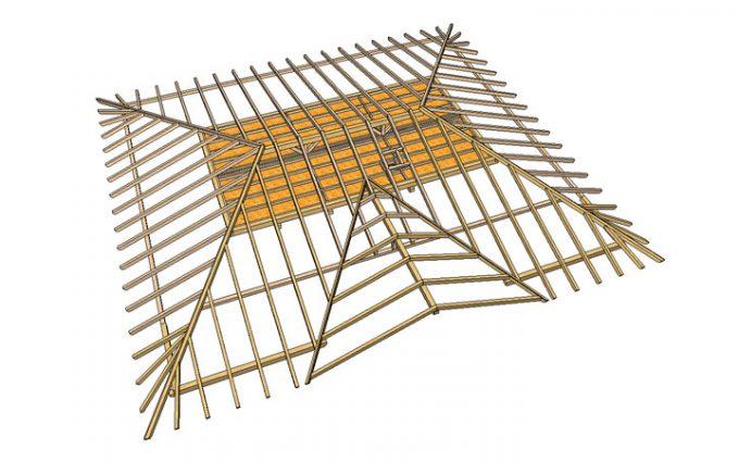 Willroider Holzbau-Dachstuhl