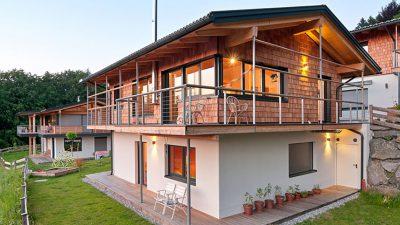 Willroider Holzmeisterhaus mit Terrasse