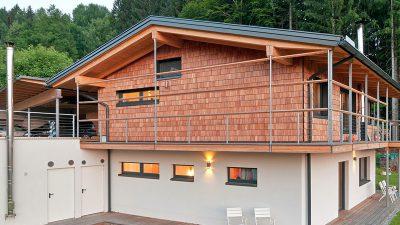 Willroider Holzmeisterhaus Seite