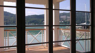Willroider Fenster im Badehaus Werzers