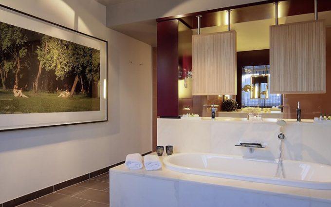 Holiday Inn Villach Badezimmer